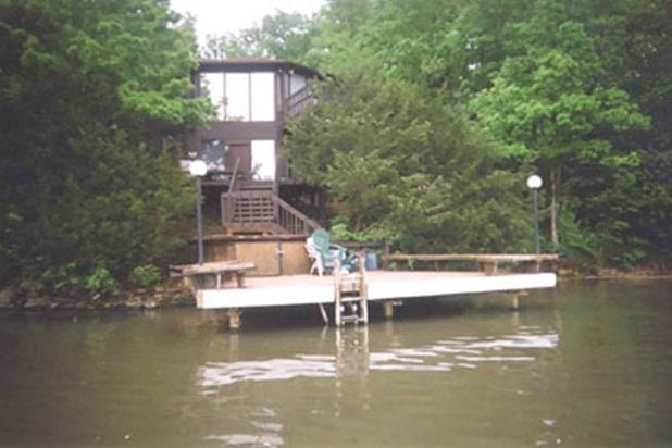Two Level 3 bedroom/3 bath REAL DEAL 13 mm - Glass Octagon Waterfront Villa - Lake of the Ozarks - rentals