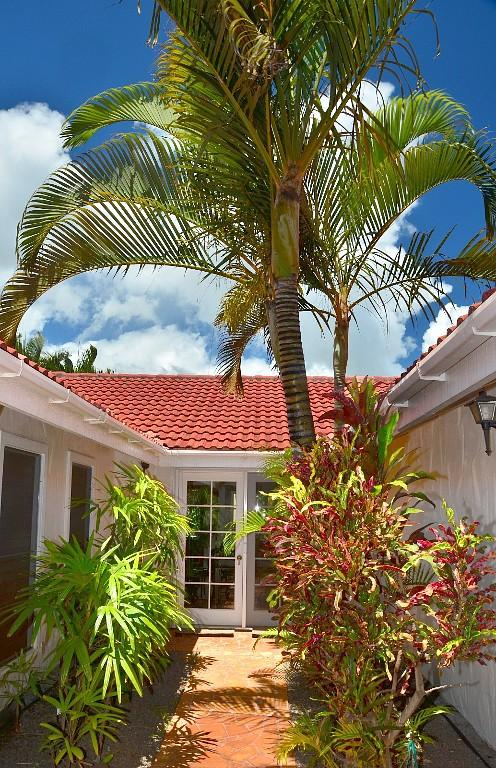 Entrance to home - Physicians Private Luxury Vacation Home 3BR/2.5BA - Koloa - rentals