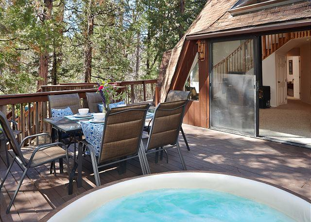 Dome II Back View - Extraordinary Dome II Rental with Hot Tub - Idyllwild - rentals