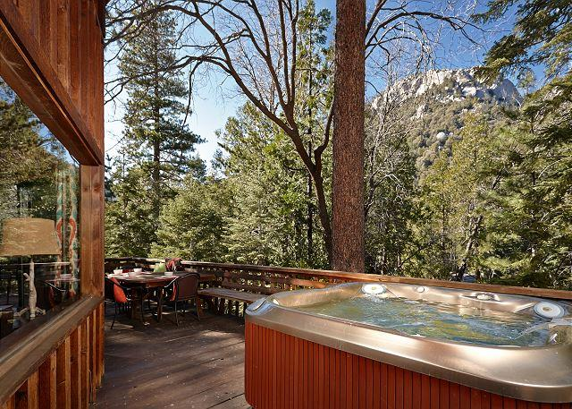 "Perfect ""Lily Rock Lodge' With Amazing Views spa and pool table - Image 1 - Idyllwild - rentals"