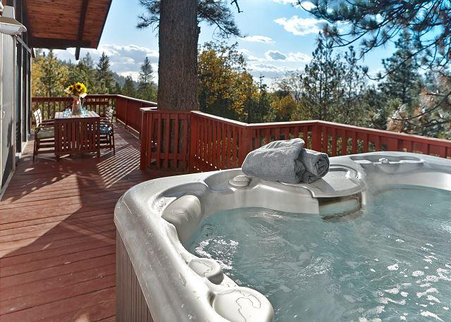 "Spa with amazing view - Stylish architectural home ""Scenic Views"" & Spa - Idyllwild - rentals"