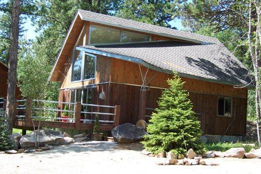 2 Bedroom cabin with loft - sleeps 6-8 - Image 1 - Lead - rentals