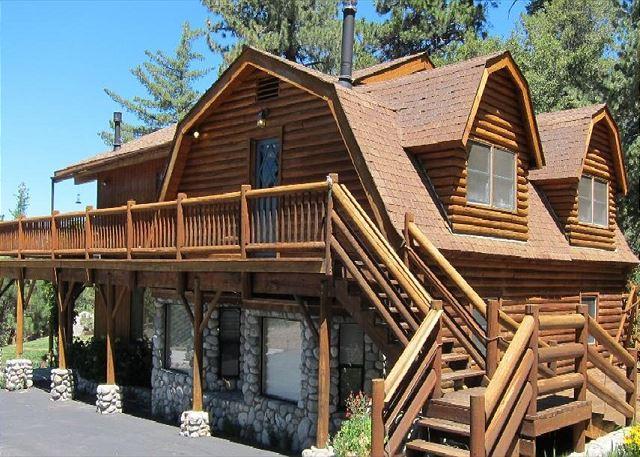 Quail's Run Luxury Hilltop Log Cabin - Image 1 - Idyllwild - rentals