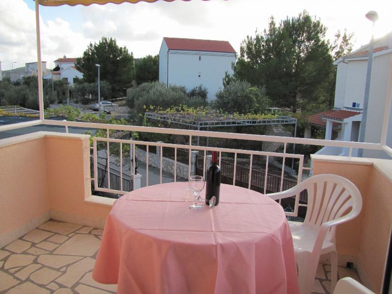 A2(2+1): balcony - 0706ROGO A2(2+1) - Rogoznica - Rogoznica - rentals
