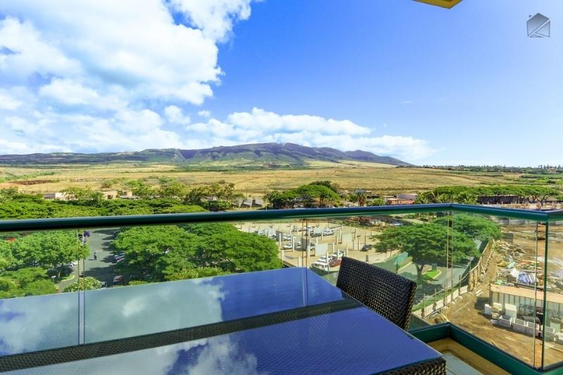 You have a slight view of construction to the right, and you may hear some noise during the day. - Best Maui Resort! Luxury Beachfront Condo with All the Extras - Laulea Reach at 722 Hokulani - Ka'anapali - rentals