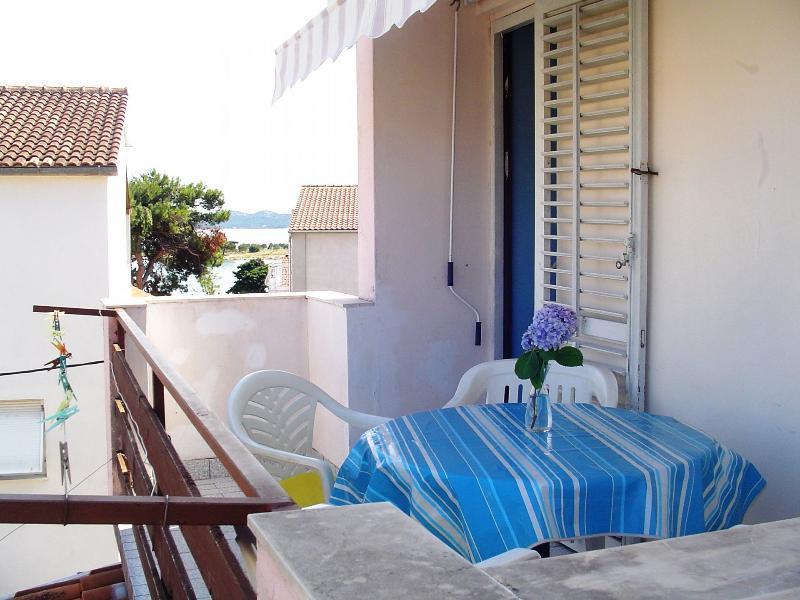 A2 Plavi (4): balcony - 2622 A2 Plavi (4) - Pakostane - Pakostane - rentals