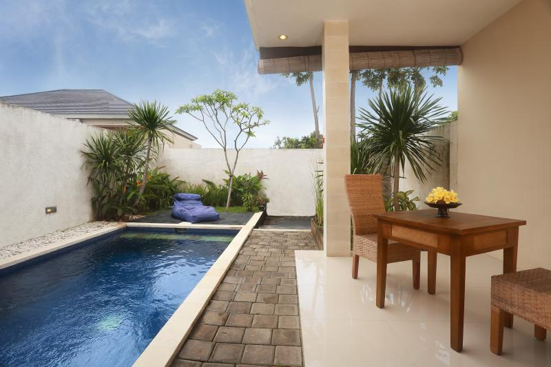 private pool 2,5x5m - Pecatu Palm Villas Bali a.k.a Palm Leaf Villas - Bali - rentals