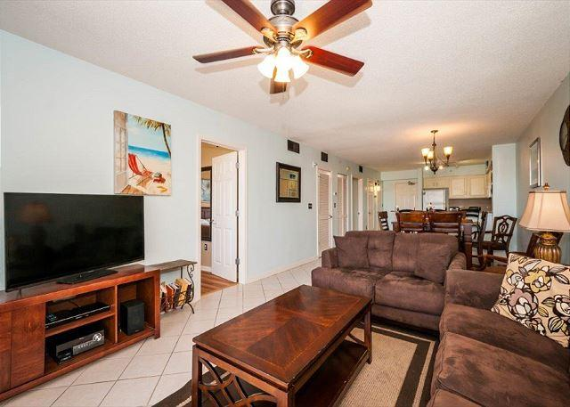 Flat Screen T.V. to Gather Around - Terrace at Pelican Beach Condo 206 ~The Perfect Nest For Snowbirds! - Destin - rentals