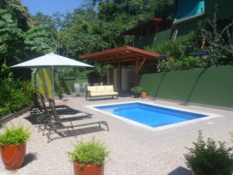 Private pool area of Casa Tattoo....five minute walk from beaches. - Walk to Ocean, Gated estate, Private pool, Secure. - Santa Teresa - rentals