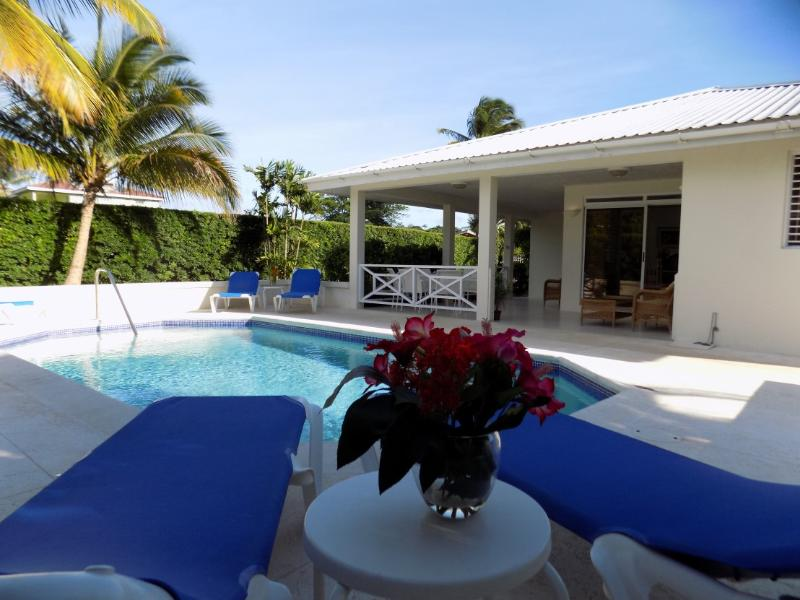 Alamanda Villa - pool deck - Alamanda, 3 bedroom villa with private pool - Holetown - rentals