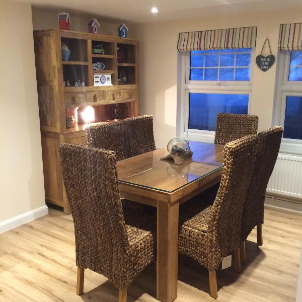 Dining for 6 people - Northrise Lodge cottage - Hastings - rentals