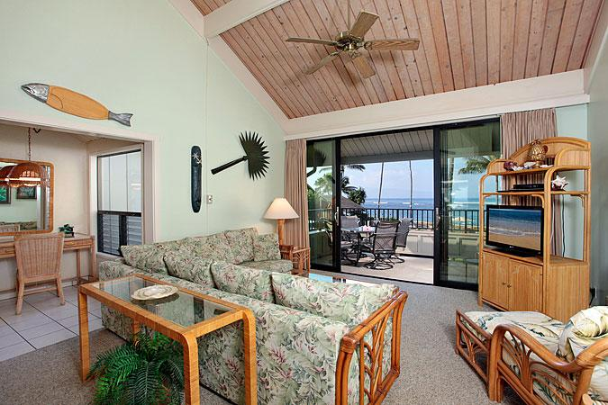 Unit 16 Ocean Front 2 Bedroom Standard Condo - Image 1 - Lahaina - rentals