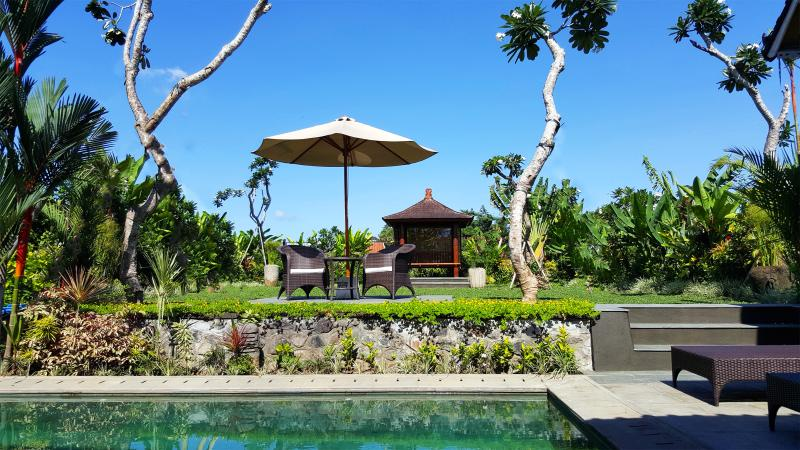 stunning spacious garden - Devi's Place Ubud- perfectly private Villa Via - Ubud - rentals