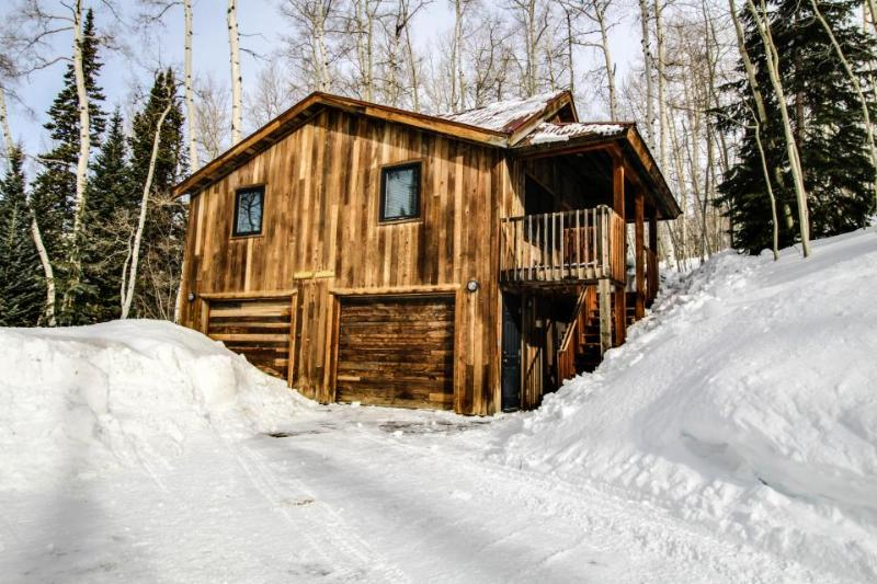 Cozy, rustic, and airy cabin, just three miles from Telluride Ski Resort! - Image 1 - Telluride - rentals