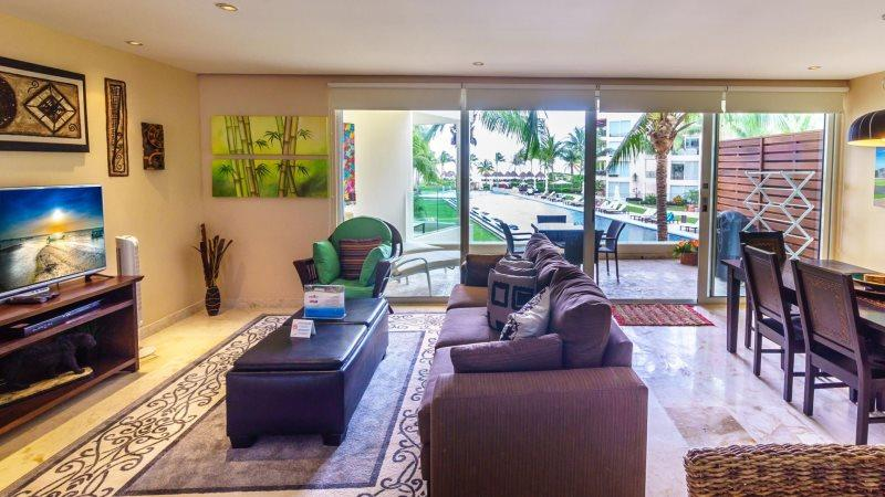 Elegant Ocean View Perfectly Situated Just Steps From Pool & Beach! - Image 1 - Riviera Maya - rentals