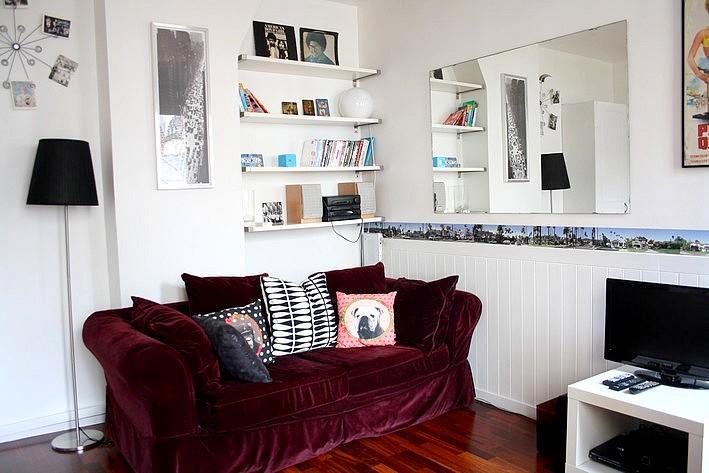 Bright living room - parisbeapartofit - Rue Oberkampf (561) - Paris - rentals