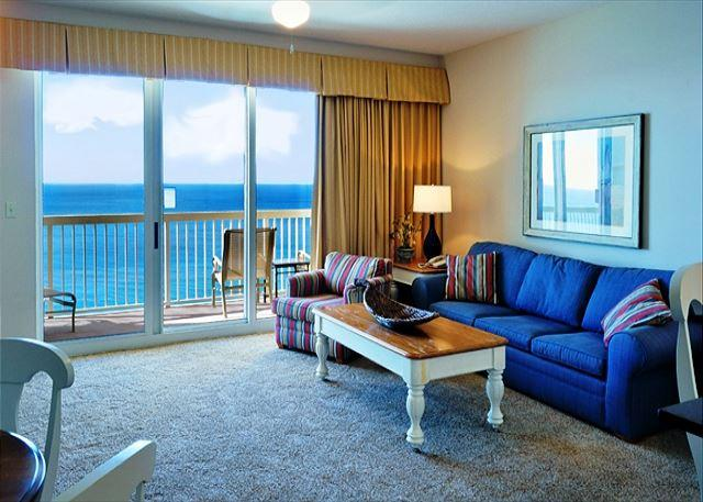 CUTE BEACHFRONT CONDO FOR 6! 10% OFF ALL MARCH STAYS! - Image 1 - Panama City Beach - rentals
