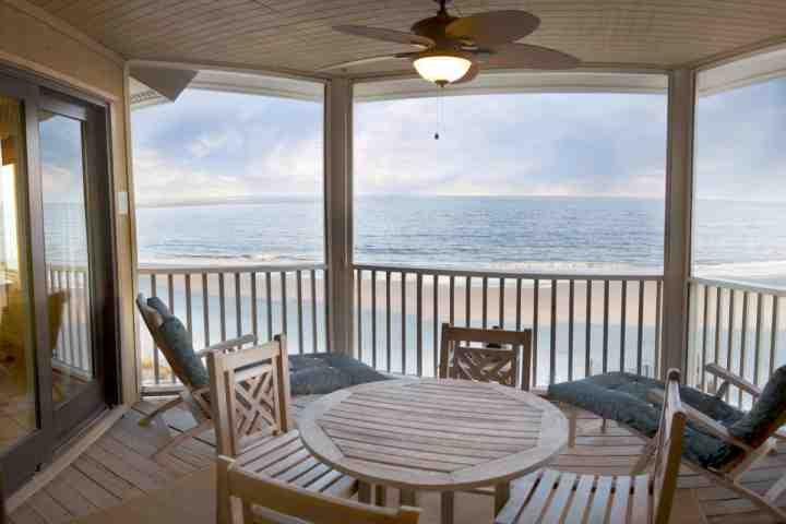 Screened porch accessed from Master Bedroom as well as Living Room. You may want to stay here all day! - Your Port O' Call Beach Escape - Wild Dunes - Isle of Palms - rentals