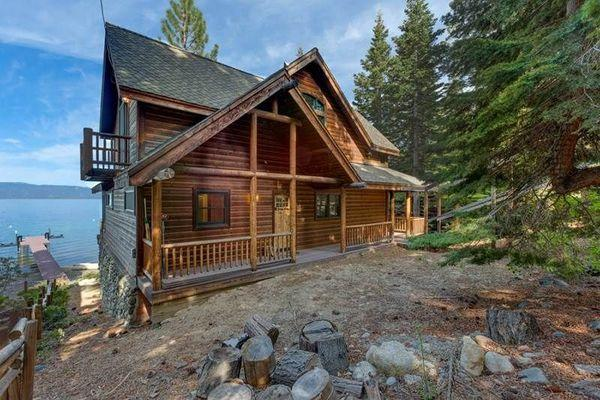 Tahoe Lakefront Home - breathtaking view, deck,bbq - Image 1 - South Lake Tahoe - rentals