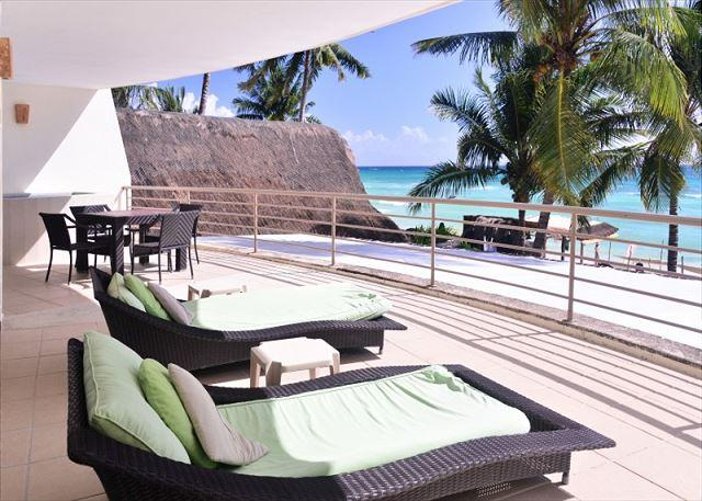 View since the terrace - Ocean Front Corto Maltes 104 - Playa del Carmen - rentals