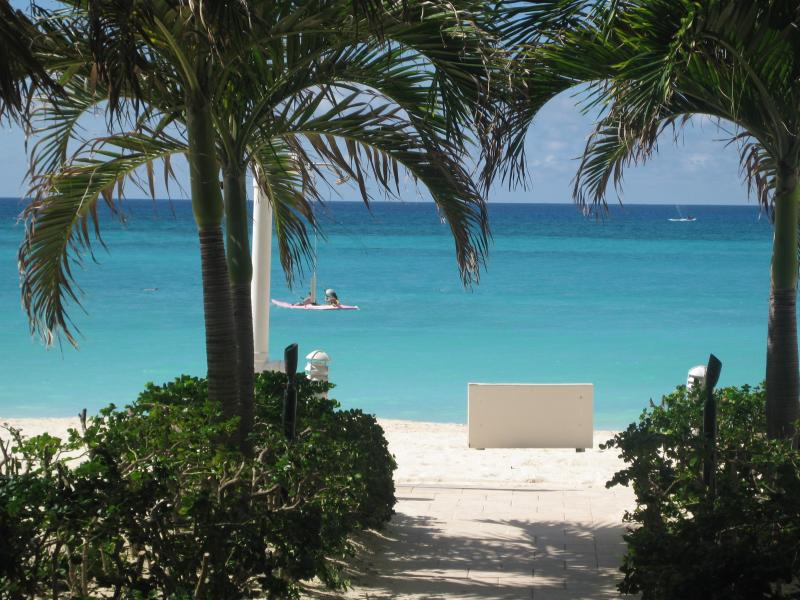Our beach is stunning and NEVER crowded - Summer/Fall Promo-Casa Caribe-3BR Cornr Penthse OceanVw 7MB-  near Ritz - Seven Mile Beach - rentals