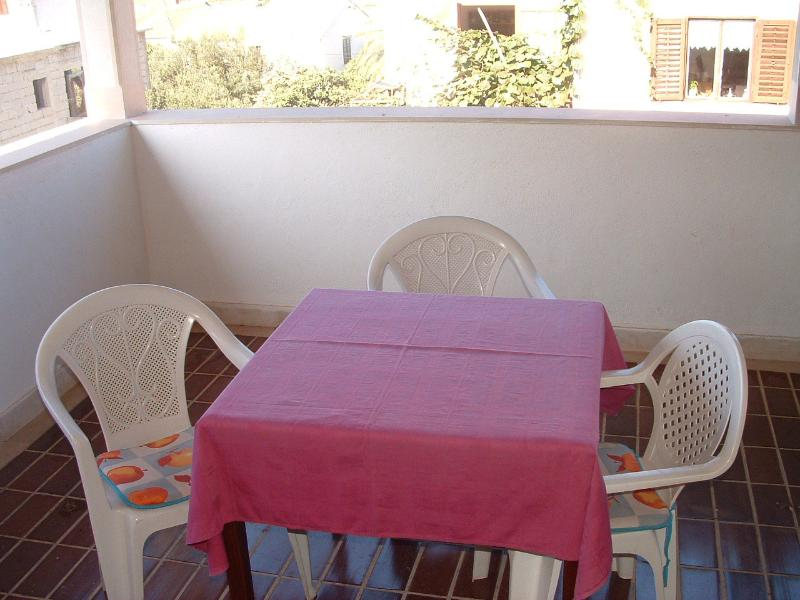 A2(3): terrace - 05801SUPE A2(3) - Supetar - Supetar - rentals