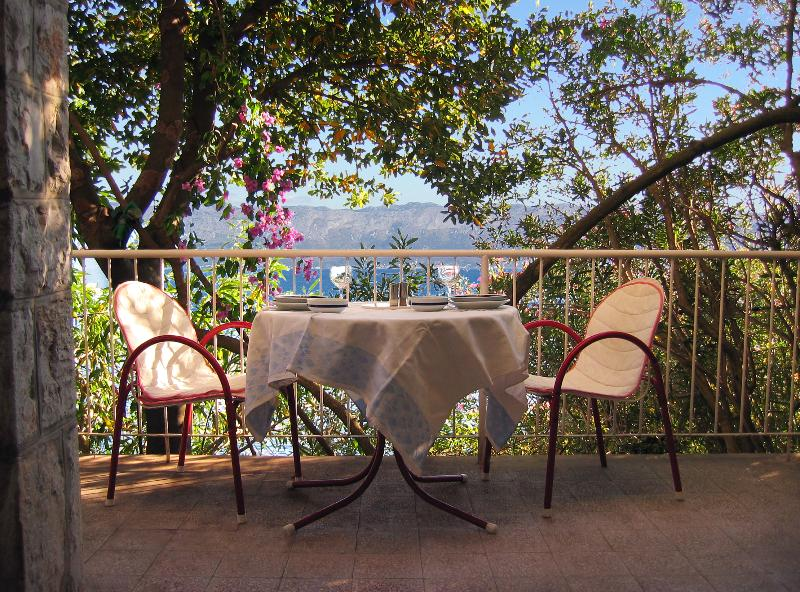 For a Nice Cup of Coffee or Just to Sit and Relax - Villa Greta - 3 Bedroom Beachfront Villa - Croatia - Trpanj - rentals