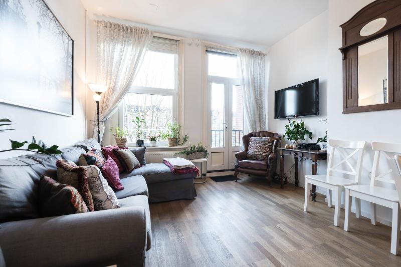 Open Plan Kitchen & Living Room - Amsterdam City Canal Apartment €300-€650+/night - Amsterdam - rentals