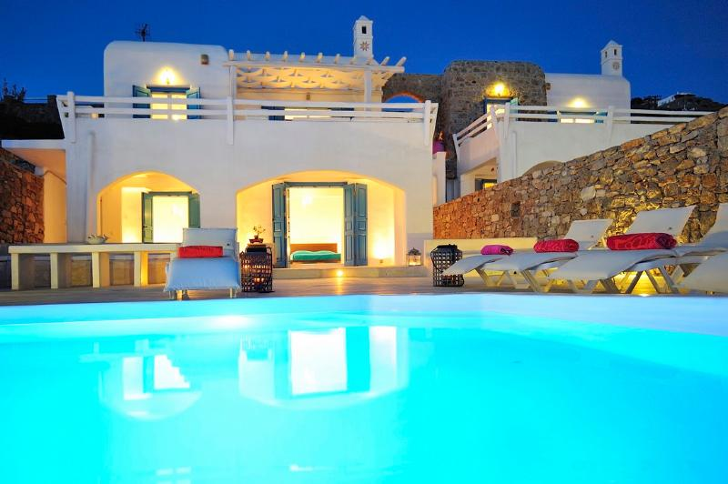 Blue Villas | Delos View Summer House I Great View - Image 1 - Mykonos Town - rentals