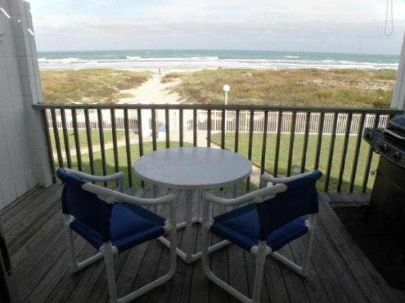 Beachfront condo with great balcony views & a resort pool - dogs welcome! - Image 1 - South Padre Island - rentals
