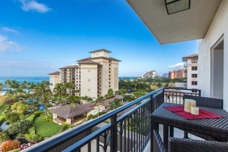 Panoramic view of the lagoons from the lanai - Ko Olina Beach Front - Contact for Our Rates! - Kapolei - rentals