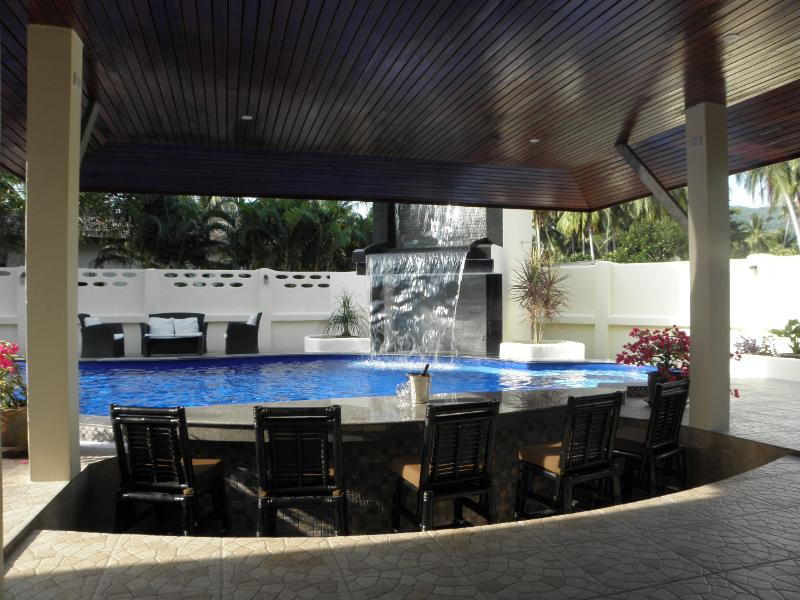 Swim Up Bar & Waterfall - Samui Garden Villa 3 BR - Koh Samui - rentals