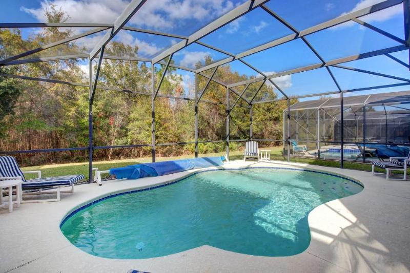 Tropical-inspired home 10 miles from Disney, includes game room & private pool! - Image 1 - Davenport - rentals