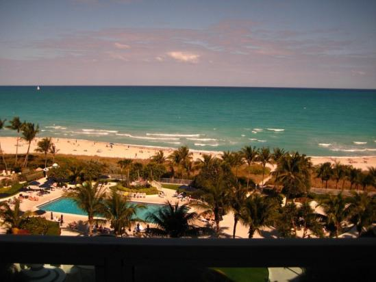 Direct beach view and this view is guaranteed - Ocean front condo 2/2 Direct beach & pool view - Miami Beach - rentals