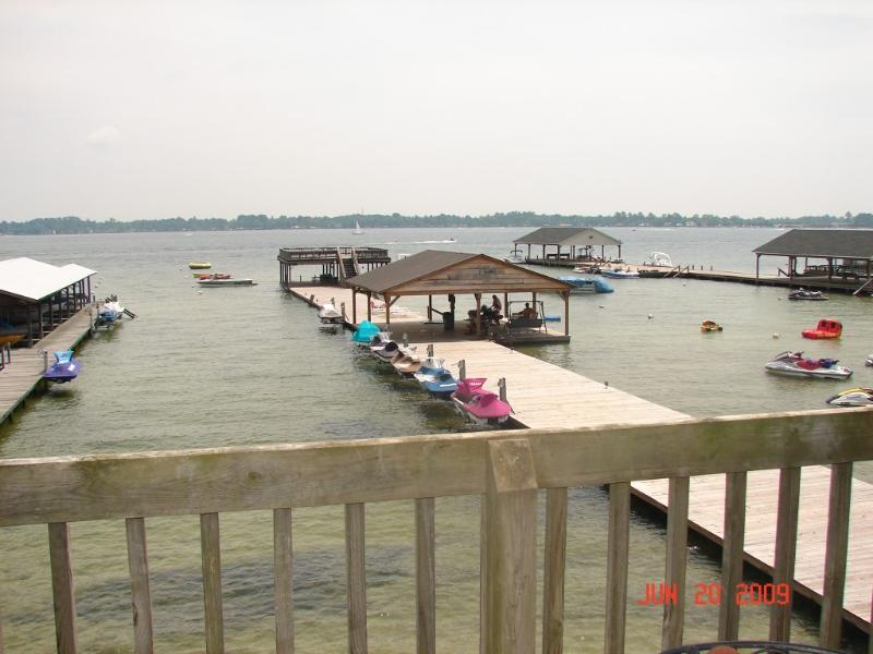 Overlooking Lake from Personal Deck - 2 Bedroom Waterfront Condo on Beautiful White Lake - Elizabethtown - rentals