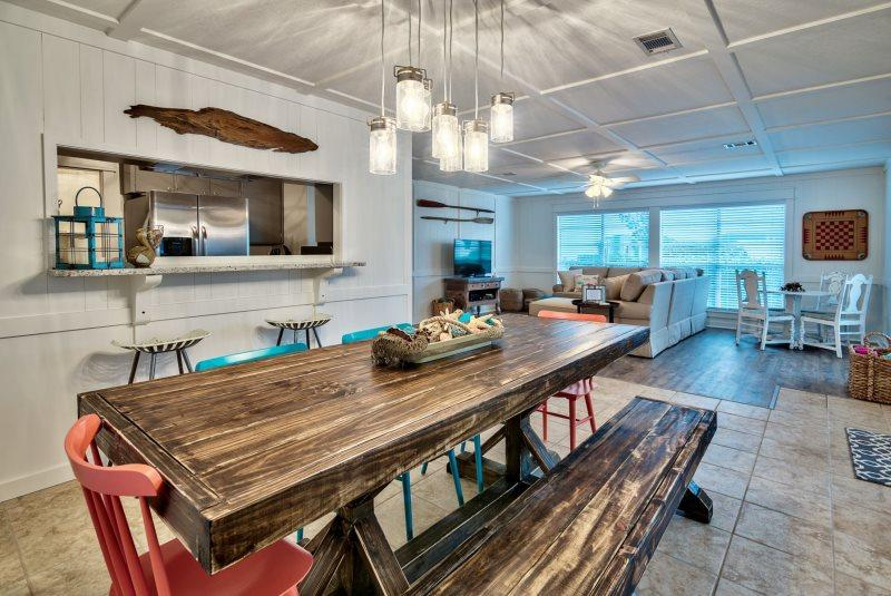 Dining Area and Living Area - Good Thymes by Seaside! - Grayton Beach - rentals