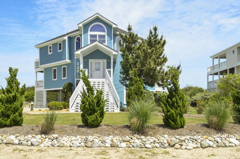 Exterior Front - OCEANFRONT, PRIVATE POOL & REC ROOM in Whalehead - Corolla - rentals
