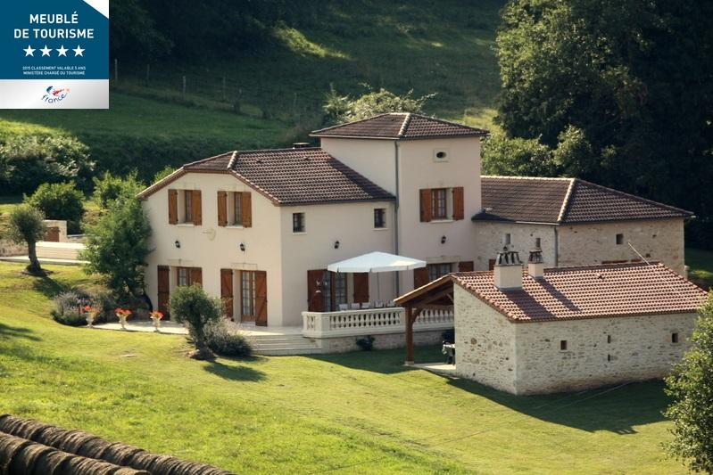 Holiday House 10 People Private Swimming Pool 4* - Image 1 - Saint-Martin-le-Redon - rentals