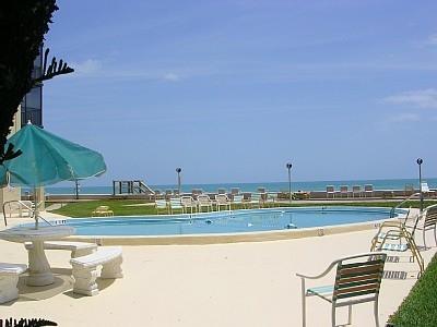Pool and Ocean - Ocean View from Every Room - Satellite Beach - rentals