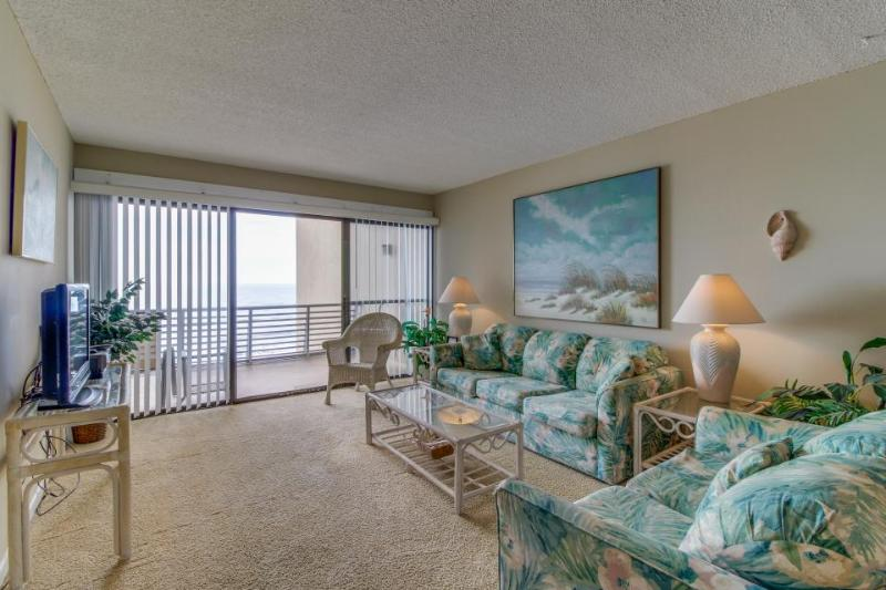 Gulf-front, dog-friendly condo with a shared pool & views, right on the beach! - Image 1 - Panama City Beach - rentals