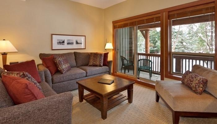 This light-filled condo features earthy hues and large windows. - 2 Bedroom Condo | Horstman House, Whistler - Whistler - rentals