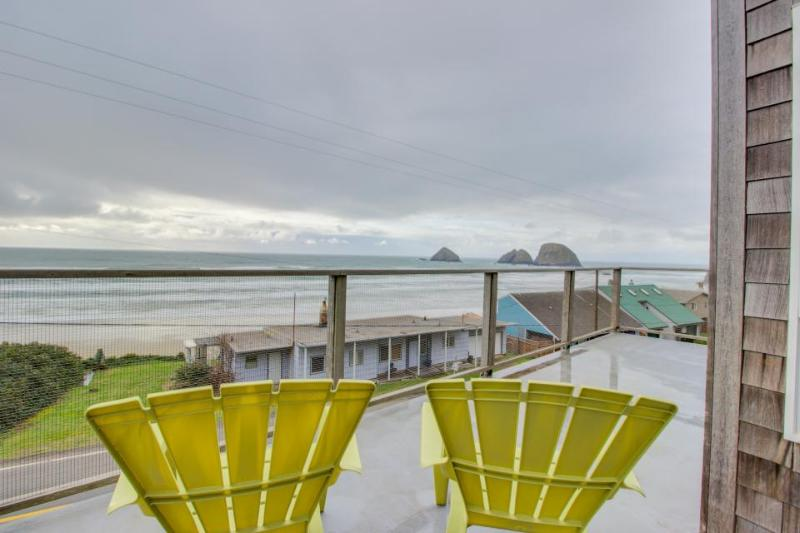 Stunning & modern oceanview home - a block and a half from the  beach! - Image 1 - Oceanside - rentals