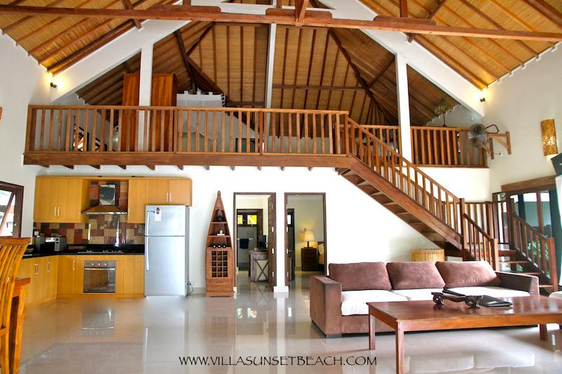 Beachfront, Villa Sunset Beach - Image 1 - Gili Trawangan - rentals