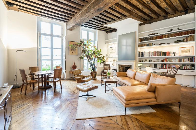 Living Room - Beauty Jacob at Saint-Germain-des-Près - Paris - rentals
