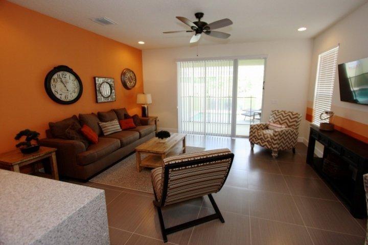 Uniquely Decorated Living Area - 1513 Dream - Clermont - rentals
