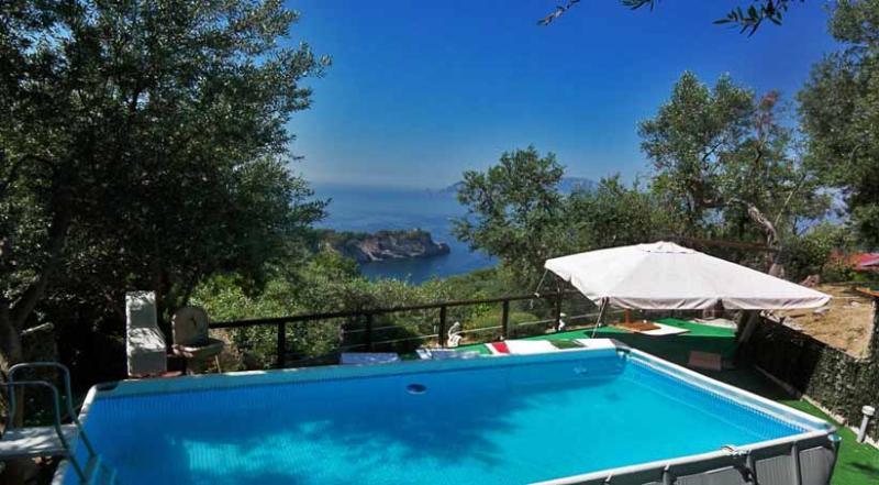 01 Villa su Capri pool area - VILLA SU CAPRI Massa Lubrense - Sorrento area - Massa Lubrense - rentals