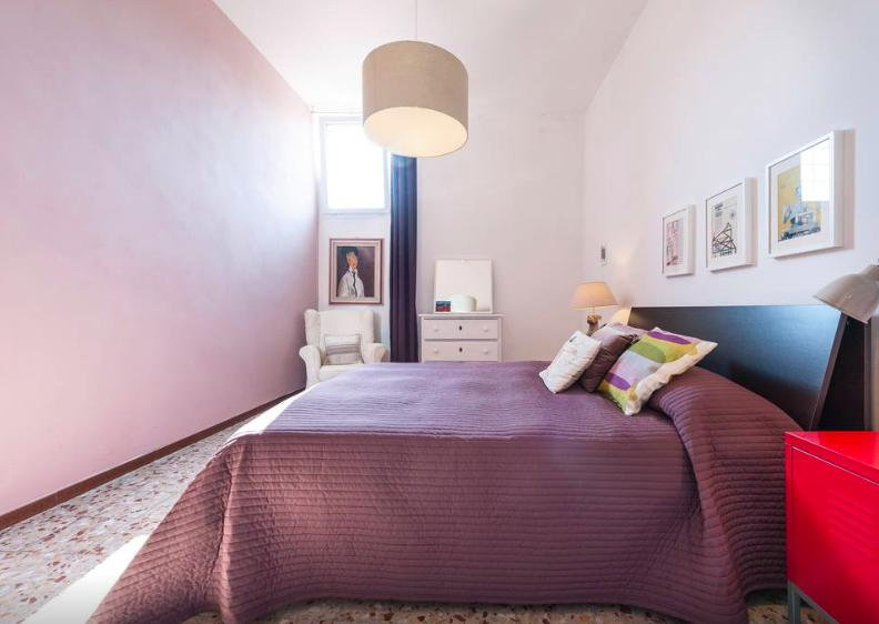 Bedroom with wardrobe, Air conditioned - Quiet & Central nest in Florence - Florence - rentals