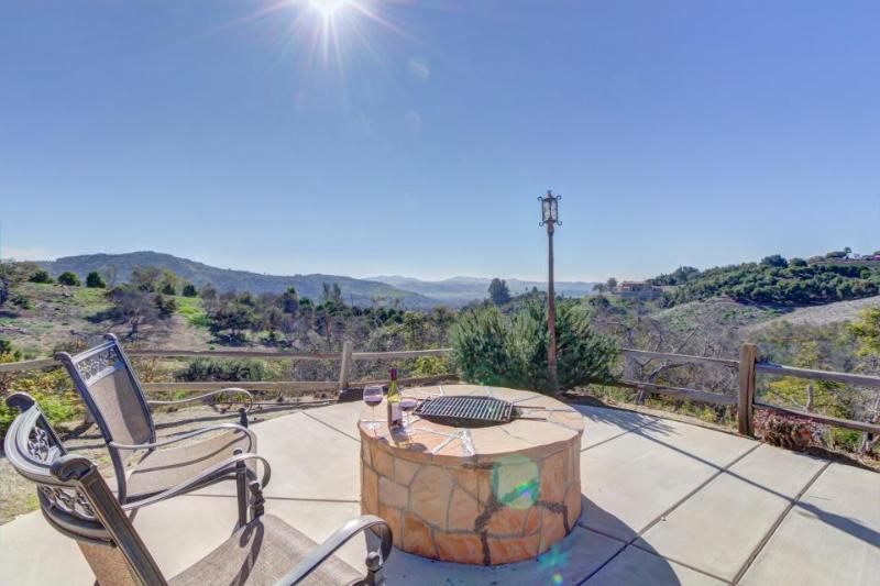 Mediterranean-style home, w/outdoor dining & six acres! - Image 1 - Fallbrook - rentals