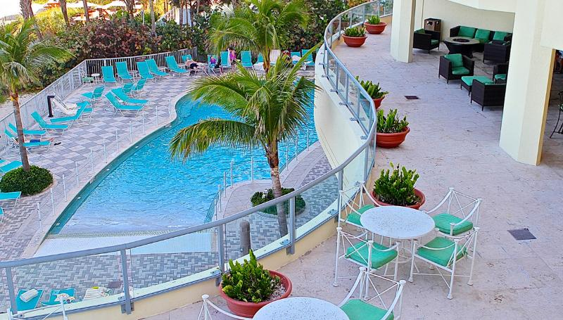 Pool Deck - 1BR Direct Ocean Front Beach Resort by The Hilton - Sunny Isles Beach - rentals