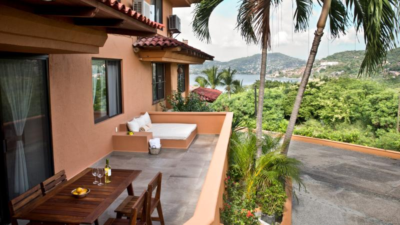Relaxing and Romantic Condo With Dreamy Ocean View 2BR - Image 1 - Zihuatanejo - rentals